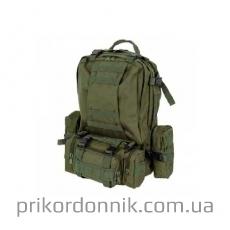 Рюкзак тактический олива 46 л с подсумками