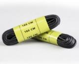 Шнурки BLACK SHOE LACES WAXED 180 CM