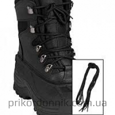 Шнурки хлопковые 80см чёрные MilTec