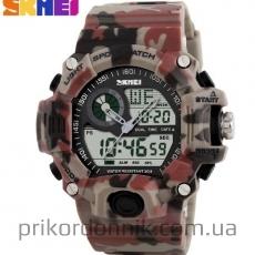 Часы камуфлированные SKMEI 1029 усиленный корпус