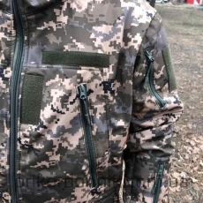Куртка Softshell пиксель ВСУ- Фото№5