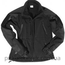 Тактическая куртка Softshell Jacket MT-Plus Sturm Mil-tec черная