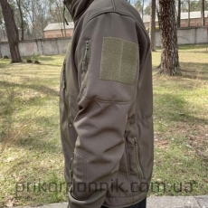 "Куртка Softshell олива ""Тактик""- Фото№3"