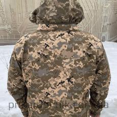 Куртка Softshell пиксель ВСУ Тактика- Фото№2