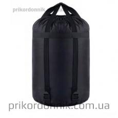 Армейский спальный мешок черный, суперзима