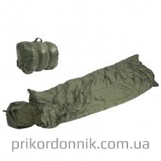 Спальный мешок 185х75 см SCHLAFSACK ′PILOT′ OLIV