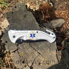Складной нож спасателя MilTec Car Knife, стальной