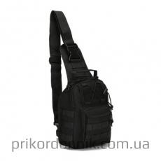 Тактический однолямочный рюкзак EDC