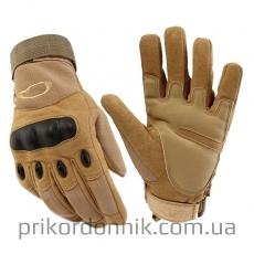 Тактические перчатки OAKLEY койот