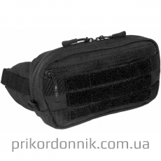Поясная тактическая сумочка с молле GÜRTELTASCHE черная