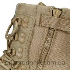 Ботинки берцы TACTICAL BOOT ZIPPER YKK Thinsulate хаки- Фото№2