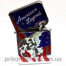 """Зажигалка бензиновая Tristar """"Американский флаг"""""""
